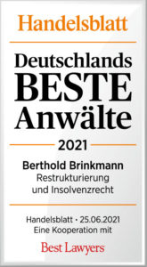 Handelsblatt Best Laywers Berthold Brinkmann_DbA