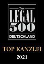 The Legal 500 Top Kanzlei 2021